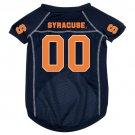 Syracuse University Orangemen Pet Dog Football Jersey Large