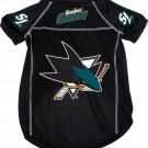 San Jose Sharks Pet Dog Hockey Jersey Large