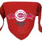 Cincinnati Reds Pet Dog Baseball Jersey Bandana S/M