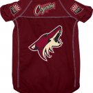 Phoenix Coyotes Pet Dog Hockey Jersey Large