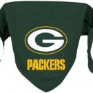 Green Bay Packers Pet Dog Football Jersey Bandana S/M