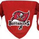 Tampa Bay Buccaneers Pet Dog Football Jersey Bandana S/M Cute
