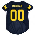 Michigan University Wolverines Pet Dog Football Jersey Small