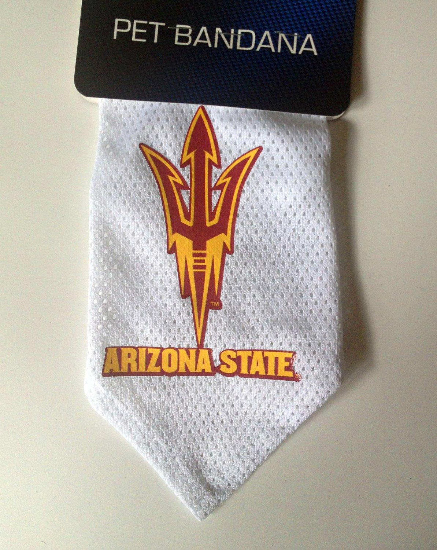Arizona State Sun Devils Pet Dog Football Jersey Bandana M/L