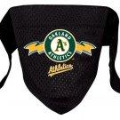 Oakland Athletics A's Pet Dog Baseball Jersey Bandana S/M