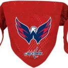 Washington Capitals Pet Dog Hockey Jersey Bandana S/M