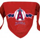 Los Angeles Angels Pet Dog Baseball Jersey Bandana M/L