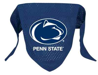 Penn State Nittany Lions Pet Dog Football Jersey Bandana S/M