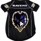 Baltimore Ravens Pet Dog Football Jersey Alternate Black Medium