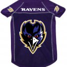 Baltimore Ravens Pet Dog Football Jersey Alternate Purple Large