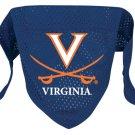 Virginia University Cavaliers Pet Dog Football Jersey Bandana M/L