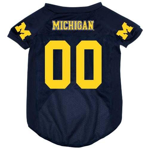 Michigan University Wolverines Pet Dog Football Jersey XL