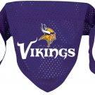 Minnesota Vikings Pet Dog Football Jersey Bandana S/M
