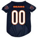 Chicago Bears Pet Dog Football Jersey Large