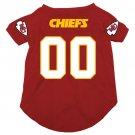 Kansas City Chiefs Pet Dog Football Jersey XL