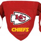 Kansas City Chiefs Pet Dog Football Jersey Bandana S/M