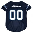 Seattle Seahawks Pet Dog Football Jersey Large