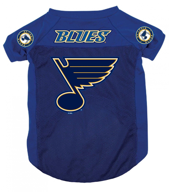St. Louis Blues Pet Dog Hockey Jersey XL