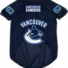 Vancouver Canucks Pet Dog Hockey Jersey Large