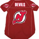 New Jersey Devils Pet Dog Hockey Jersey XL