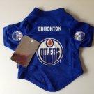 Edmonton Oilers Pet Dog Hockey Jersey XL