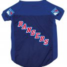 New York Rangers Pet Dog Hockey Jersey XL