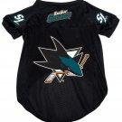 San Jose Sharks Pet Dog Hockey Jersey XL