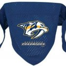 Nashville Predators Pet Dog Hockey Jersey Bandana S/M