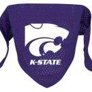 Kansas State Wildcats Pet Dog Football Jersey Bandana M/L