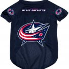 Columbus Blue Jackets Pet Dog Hockey Jersey XL