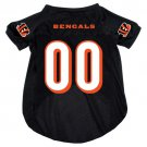 Cincinnati Bengals Pet Dog Football Jersey XL v3