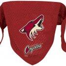 Phoenix Coyotes Pet Dog Hockey Jersey Bandana M/L Cute