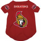 Ottawa Senators Pet Dog Hockey Jersey Medium