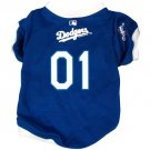 Los Angeles Dodgers Pet Dog Baseball Jersey w/Buttons Medium