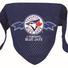 Toronto Blue Jays Pet Dog Baseball Jersey Bandana M/L