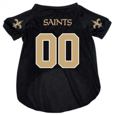 New Orleans Saints Pet Dog Football Jersey Medium