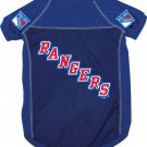 New York Rangers Pet Dog Hockey Jersey Large