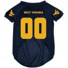 West Virginia University Mountaineers Pet Dog Football Jersey Medium