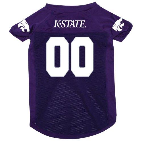 Kansas State University Wildcats Pet Dog Football Jersey Large