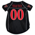 Texas Tech University Red Raiders Pet Dog Football Jersey Large