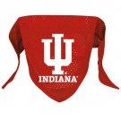 Indiana University Hoosiers Pet Dog Football Jersey Bandana S/M