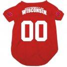 Wisconsin University Badgers Pet Dog Football Jersey XL