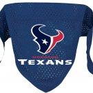 Houston Texans Pet Dog Football Jersey Bandana S/M