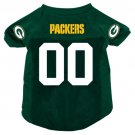 Green Bay Packers Pet Dog Football Jersey Small