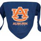Auburn University Tigers Pet Dog Football Jersey Bandana M/L