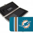 Miami Dolphins Football Jersey Clutch Shell Wallet