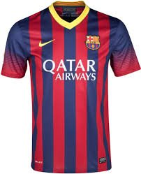 Barcelona Home Shirt Nike Mens XXLarge Brand New