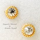 Swarovski Crystal Chaton Colors  Choice of Crystal Colors Earrings $24