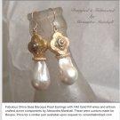 China Seas Baroque Pearl Earrings