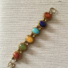 Women's  Chunky Multicolored Cabochon Bracelet
